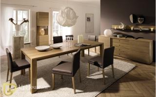 Bộ bàn ăn gỗ đẹp U17