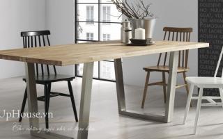 Bộ bàn ăn gỗ đẹp U26