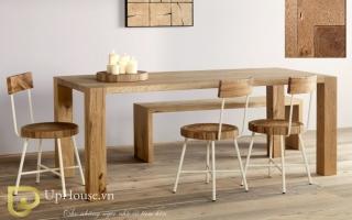 Bộ bàn ăn gỗ đẹp U29