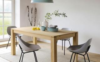 Bộ bàn ăn gỗ đẹp U31