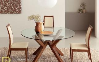 Bộ bàn ăn gỗ đẹp U34