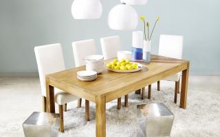 Bộ bàn ăn gỗ đẹp U36