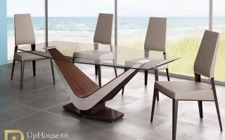 Bộ bàn ăn gỗ đẹp U7