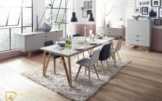 Bộ bàn ăn gỗ đẹp U13