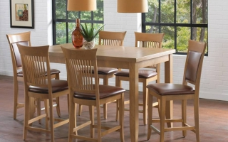 Bộ bàn ăn gỗ đẹp U30