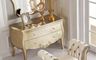 Mẫu bàn phấn trang điểm gỗ đẹp U13