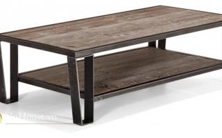 Mẫu bàn uống trà gỗ đẹp U24