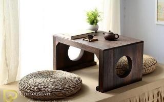 Mẫu bàn uống trà gỗ đẹp U43