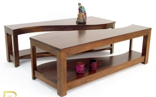 Mẫu bàn uống trà gỗ đẹp U58