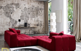 Mẫu ghế sofa phòng khách đẹp U22