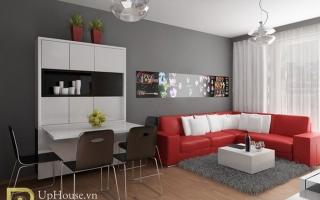 Mẫu ghế sofa phòng khách đẹp U25