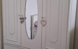 Mẫu tủ quần áo gỗ đẹp U17