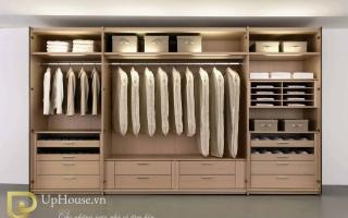 Mẫu tủ quần áo gỗ đẹp U3