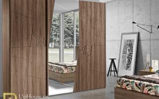 Mẫu tủ quần áo gỗ đẹp U34