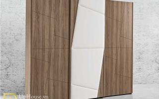 Mẫu tủ quần áo gỗ đẹp U35