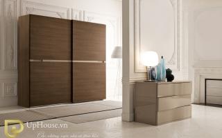 Mẫu tủ quần áo gỗ đẹp U4