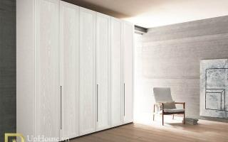 Mẫu tủ quần áo gỗ đẹp U47