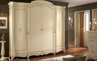 Mẫu tủ quần áo gỗ đẹp U50