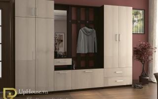 Mẫu tủ quần áo gỗ đẹp U6