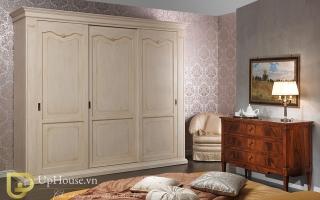 Mẫu tủ quần áo gỗ đẹp U7