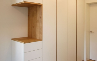 Mẫu tủ quần áo gỗ đẹp U11
