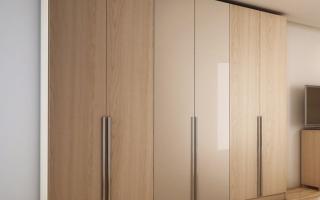 Mẫu tủ quần áo gỗ đẹp U29