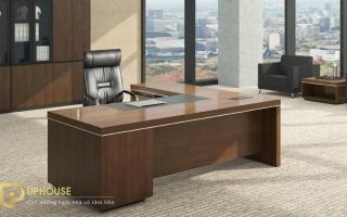 mẫu bàn làm việc văn phòng đẹp của giám đốc U22