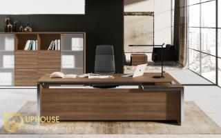 mẫu bàn làm việc văn phòng đẹp của giám đốc U27a