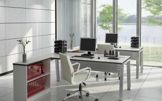 Mẫu bàn văn phòng đẹp U21