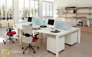 Mẫu bàn văn phòng đẹp U32