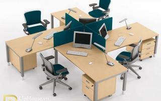 Mẫu bàn văn phòng đẹp U9