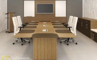 Mẫu bàn họp văn phòng đẹp U3