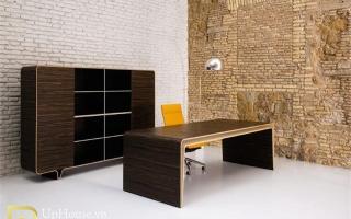 mẫu bàn làm việc văn phòng đẹp của giám đốc U26