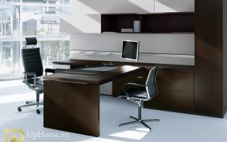 mẫu bàn làm việc văn phòng đẹp của giám đốc U27