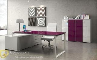 mẫu bàn làm việc văn phòng đẹp của giám đốc U39