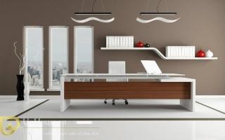 mẫu bàn làm việc văn phòng đẹp của giám đốc U4