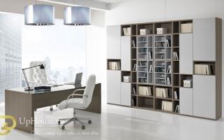 mẫu bàn làm việc văn phòng đẹp của giám đốc U42