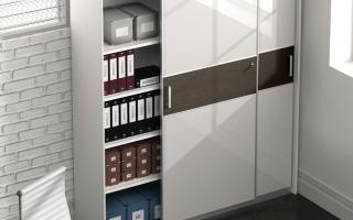 Mẫu tủ kệ hồ sơ văn phòng đẹp U3