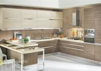Mẫu tủ kệ bếp gỗ đẹp