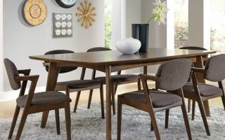 Những bộ bàn ghế gỗ đẹp nhất
