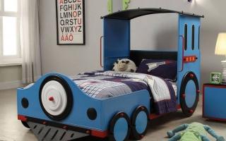 giường ngủ xe hơi cho bé U11a