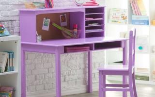 mẫu bàn học gỗ đẹp cho bé U31