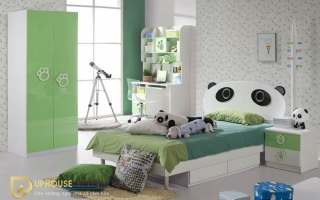 mẫu giường ngủ gỗ đẹp cho bé U11