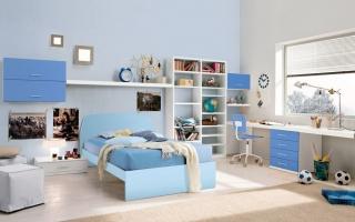 mẫu giường ngủ gỗ đẹp cho bé U26