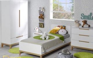 mẫu giường ngủ gỗ đẹp cho bé U28