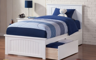 mẫu giường ngủ gỗ đẹp cho bé U37