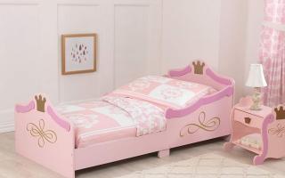 mẫu giường ngủ gỗ đẹp cho bé U41