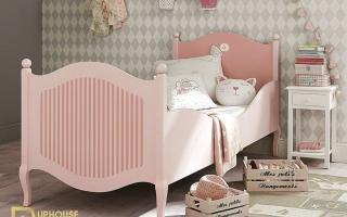 mẫu giường ngủ gỗ đẹp cho bé U47