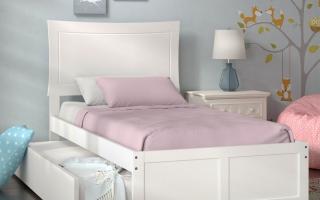 mẫu giường ngủ gỗ đẹp cho bé U53