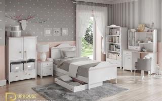 mẫu giường ngủ gỗ đẹp cho bé U55